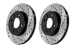 StopTech/PowerSlot Drilled Rotors / Brembo Brake System