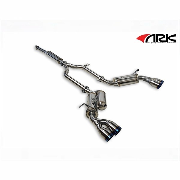 ARK GRiP Exhaust System / Polished, Burnt,  Tecno Tips for 2.0T
