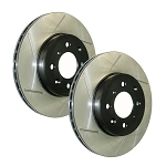 StopTech/PowerSlot Slotted Rotors / Standard Brake System
